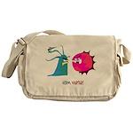 Germ Warfare Messenger Bag