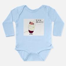 Leprosy Long Sleeve Infant Bodysuit