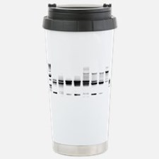 DNA Gel B/W Travel Mug