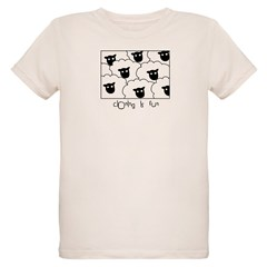 Dolly the Sheep Organic Kids T-Shirt