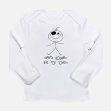 Safety Goggles Long Sleeve Infant T-Shirt