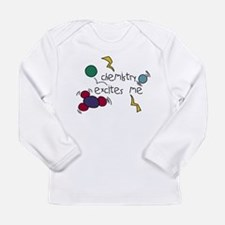 Chemistry Excites Me Long Sleeve Infant T-Shirt