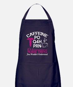 Caffeine T Shirt, It's A Nurse Th Apron (dark)