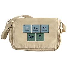 I Luv Amy Messenger Bag