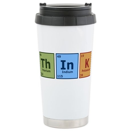 Think 2 Stainless Steel Travel Mug