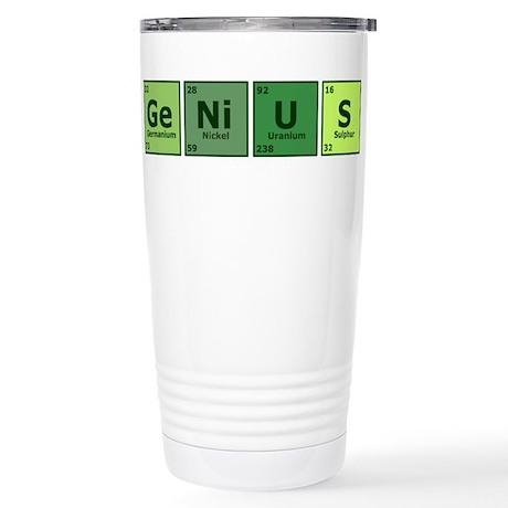 Genius Stainless Steel Travel Mug
