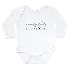 Kathleen Peptide Long Sleeve Infant Bodysuit