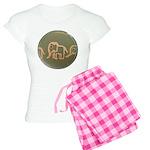 Pink Elephants Women's Light Pajamas
