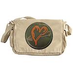 Heart Messenger Bag