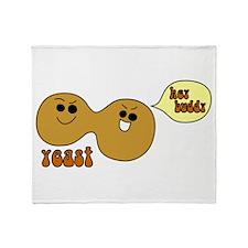 Yeast Buddies Throw Blanket