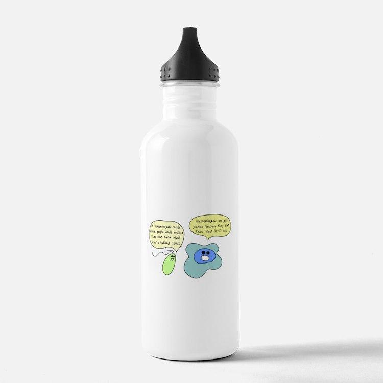 Cute Immunology Water Bottle