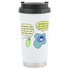 Cute Microbiology Travel Mug