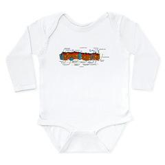 Cell Membrane Long Sleeve Infant Bodysuit