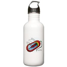 Bacteria Diagram Sports Water Bottle
