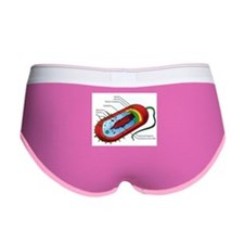 Bacteria Diagram Women's Boy Brief