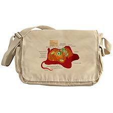 Animal Cell Messenger Bag