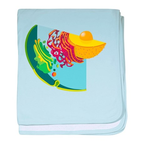 Endomembrane System baby blanket