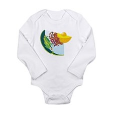 Endomembrane System Long Sleeve Infant Bodysuit
