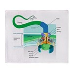 Morphology Throw Blanket