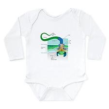 Morphology Long Sleeve Infant Bodysuit