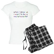 Grow Up - Rocket Scientist Pajamas