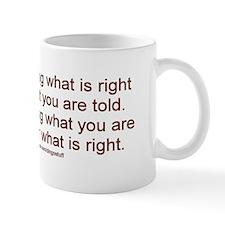 """""""Morality"""" Mug"""