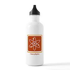 Love Physics Sports Water Bottle