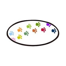 Paw prints Patches