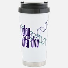 I Play with DNA Stainless Steel Travel Mug