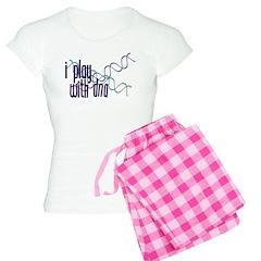 I Play with DNA Women's Light Pajamas