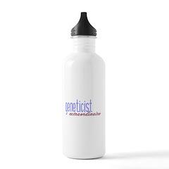 Geneticist Extraordinaire Water Bottle
