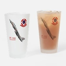 F-14 Tomcat VF-102 DIAMONDBAC Drinking Glass