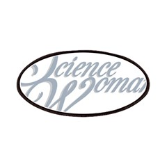 Science Woman Patches
