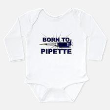 Born to Pipette Onesie Romper Suit