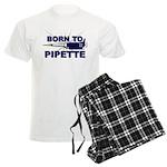 Born to Pipette Men's Light Pajamas