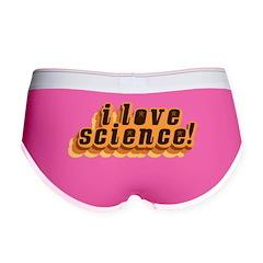 Love Science Retro Women's Boy Brief