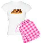 Love Science Retro Women's Light Pajamas