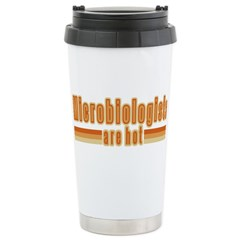 Microbiologists are Hot Travel Mug