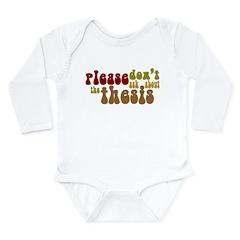 Thesis Long Sleeve Infant Bodysuit