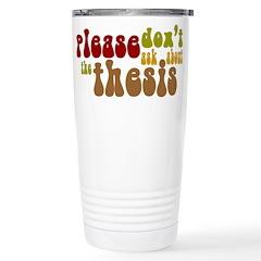 Thesis Travel Mug