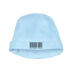 Barcode Science Geek baby hat