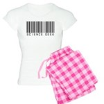 Barcode Science Geek Women's Light Pajamas