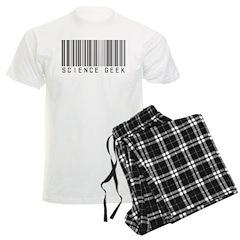 Barcode Science Geek Pajamas