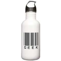 Barcode Geek Water Bottle