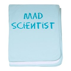 Mad Scientist baby blanket