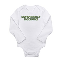 Genetically Modified Long Sleeve Infant Bodysuit