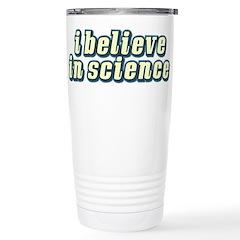 Believe in Science Travel Mug