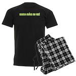 Science Makes Me Cool Men's Dark Pajamas