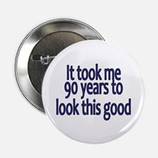 """Cute 90 years 2.25"""" Button (10 pack)"""