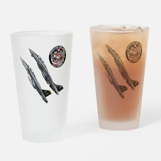 Jolly Rogers Drinking Glass